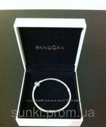 Браслет известного бренда из настоящего серебра 925 пробы Пандора