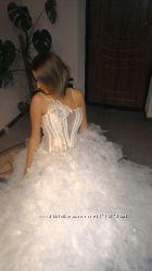 обалденно красивое свадебное платье