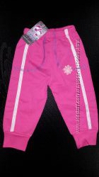 Штаны спортивные для девочки, 1-3 года,  2903-0108