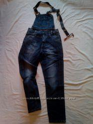 Новый мужской джинсовый комбинезон VARXDAR. 30, 31, 32, 33, 34 размеры