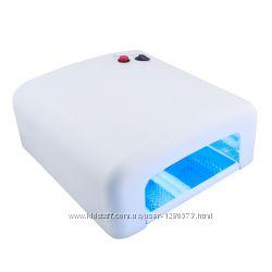УФ Лампа для ногтей 36Вт таймер 120сек новая