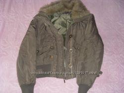 Куртка деми с воротником