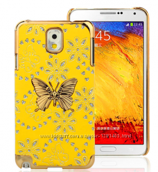 бабочка чехол для Samsung Galaxy 3 III N9000