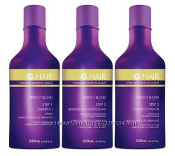 Кератин G-Hair от Иноар для блондинок