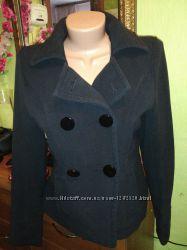 Короткое черное пальто Papaya