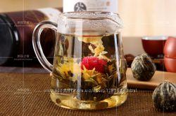 Элитный китайский связанный чай, жасмин