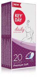 Прокладки женские гигиенические ежедневные KEY DAY