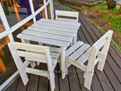 Набор мебели садово-парковый стол и стулья  Нм-8