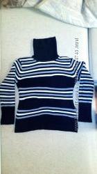свитер с хомутом