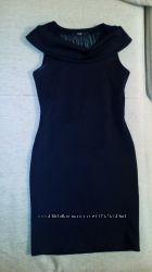 чёрное элегантное платье, цена снижена