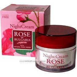 Крем для лица ночной Роза Болгарии 50 мл