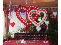 Сердца плетеные на свадьбу
