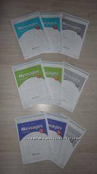 Учебник підручник Английский язык Меседжес Messaqes и тетрадь