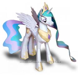 Принцесса Селестия и стражник лошадки из мультика