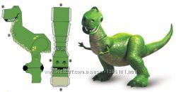 Динозавр Рекс из мультфильма Истории игрушек