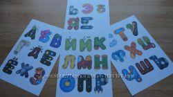 Карточки - Алфавит для детей в картинках