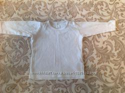 Кофточки с длинным рукавом для девочки на рост 68 см, возраст 4-6 месяцев