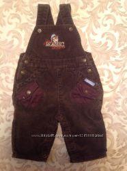 Комбинезон-штаны, вельвет, рост 62, возраст 3-6 месяцев
