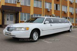 Лимузин LINCOLN на свадьбу.