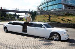 Лимузин на 10 мест Rolls-Royce Phantom реплика 300С White