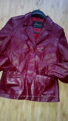 шкіряний піджак