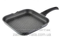 Сковорода-гриль 26х26 см BERGNER BG 1351-BK