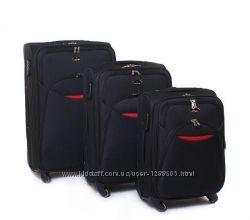 Комплект чемоданов Suitcase black