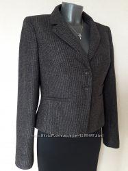 Красивенный, неповторимый, строгий деловой, очень теплый пиджак New Look