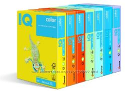 100л Микс цветов - Цветная двухсторонняя бумага А4