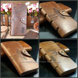 Мужское портмоне бумажник Bailini Long кошелек клатч