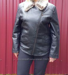 Демисезонная кожаная куртка L. S. F.  44 XL р.