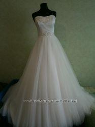 Шикарные свадебные платья.