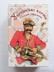 Карты Украинские сувенирные