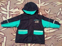 Куртка дождевик ветровка на флисе Lupilu 74-80см. 9-12 месяцев