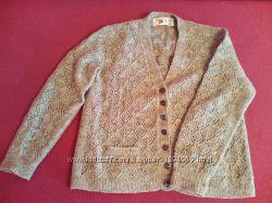 Новая кофта джемпер 100 шерсть Jakob Wool размер 48 50