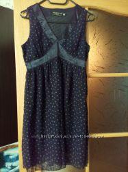 Платье летнее сарафан летний шифон 10 38 размер 44-46 можно для беременной