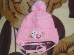 Тепленькая шапочка для маленькой принцессы