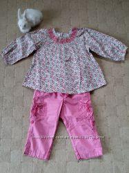 Блуза и штанишки H&M 9-12мес