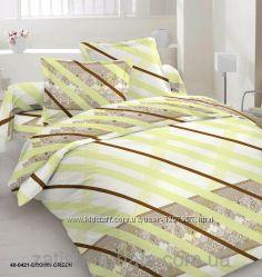 Комплект элитного постельного белья из высококачественного сатина