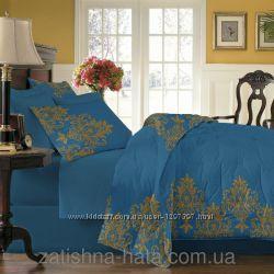 Комплект элитного постельного белья, сатин люкс