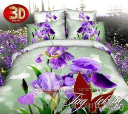 ТМ TAG Комплект постельного белья 3D поликатон