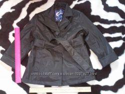 Модный плащ для девочки 2, 5-4 лет. Куртка