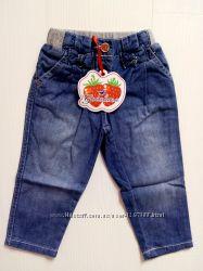 Стильные джинсы GAIALUNA для маленьких модниц 12 мес.