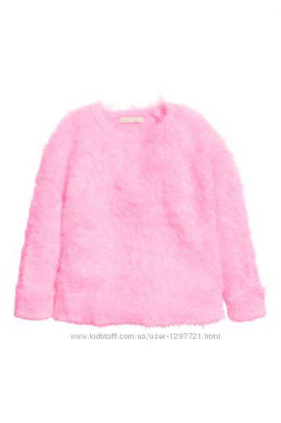 HM Вязанный свитер для девочки 2-4года 4-6лет