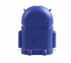 Конвертер OTG в форме робота android для USB