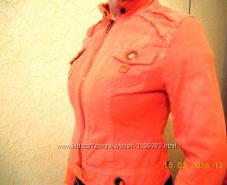 Пиджак цвета коралл cop copine р. М 4244