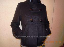 Пальто черное короткое р. М 4244