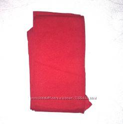 Calzedonia красные колготки плотные. матовые