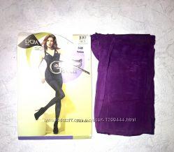 Gatta колготки плотные фиолетовые размер 3