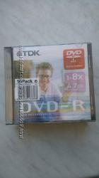 Диски DVD-R TDK 4. 7Gb 1-8x